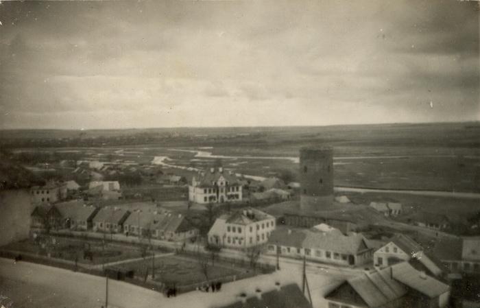 Эта же площадь в 1955 году