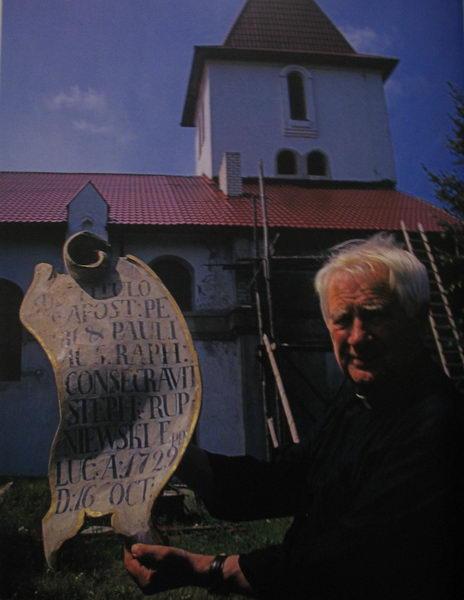 Ксендз Ян Василевский. Из книги «Polesie», Krzysztof Hejke.