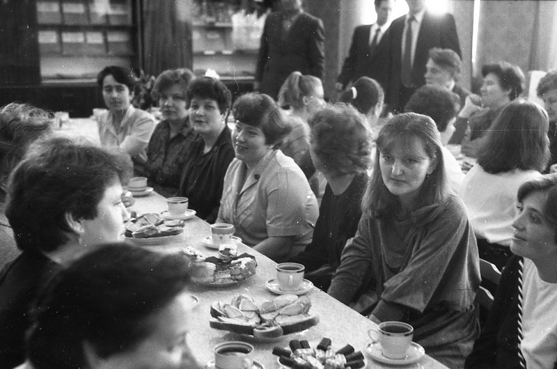Педагогический коллектив 80-90-ых годов_1, 1988 год