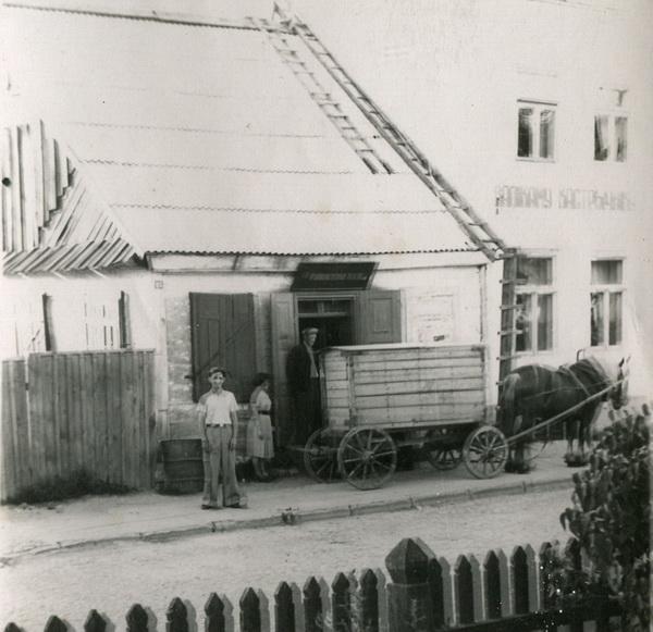Привоз хлеба (советское время)