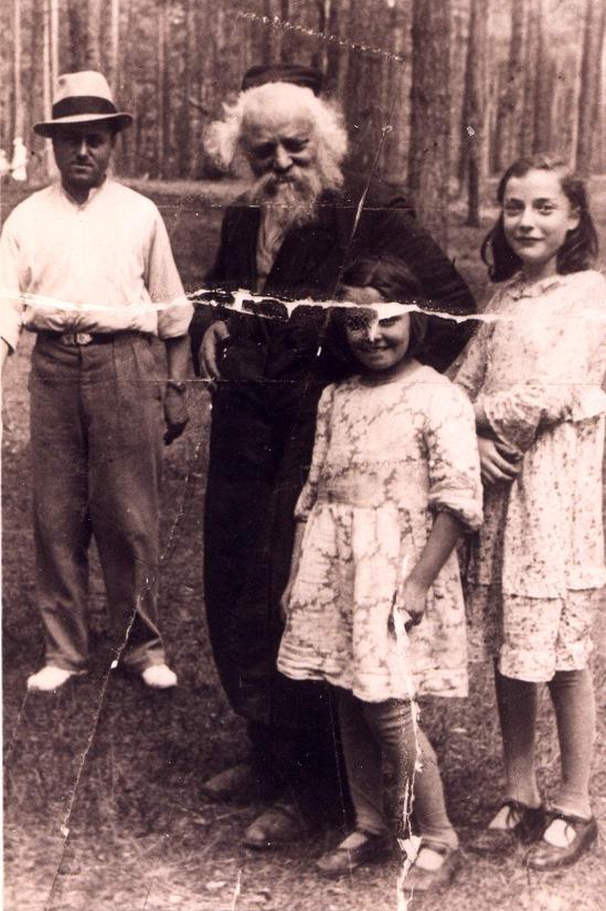 Со своей семьёй