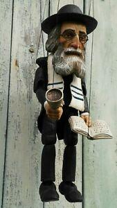 THE RABBI PUPPET OF PRAGUE