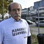 Zagreb, 16.11.2013 - Dvojezicne ploce u Vukovarskoj ulici povodom Dana tolerancije
