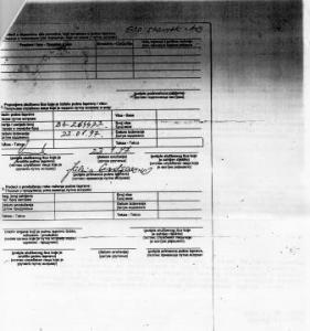 Agent OSA-e preuzima dokumente za islamiste