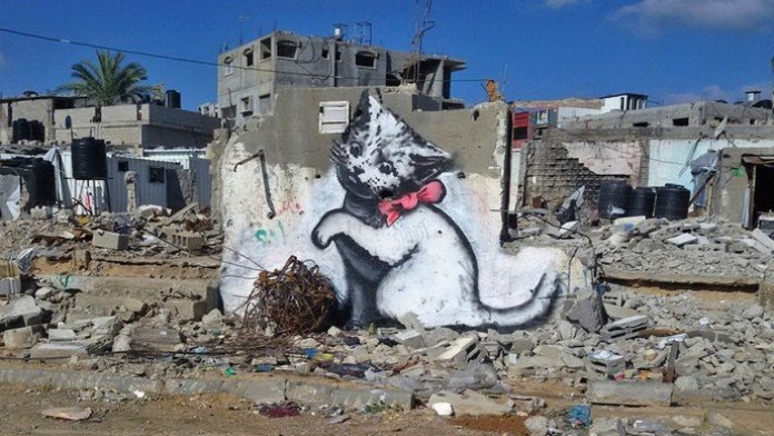 Gaza mural 1