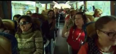 španjolke autobus