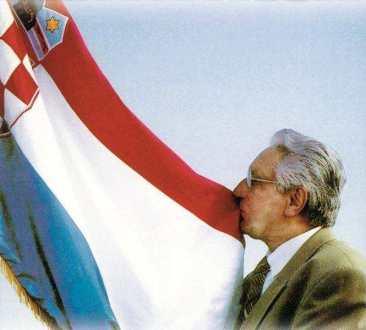 Tuđman knin zastava