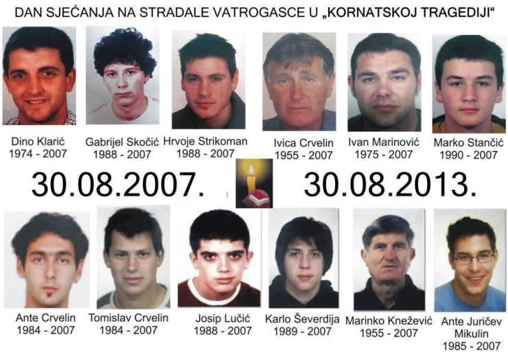 kornatske žrtve