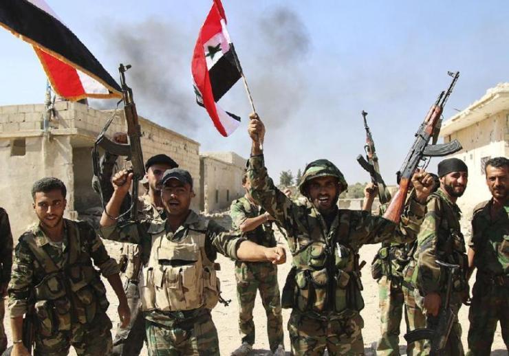 sirijski vojnici