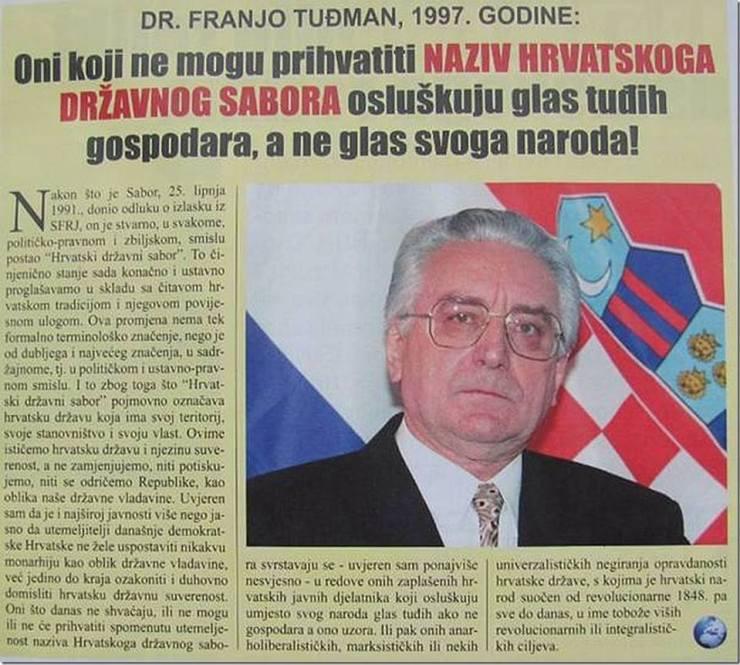 tuđman novine