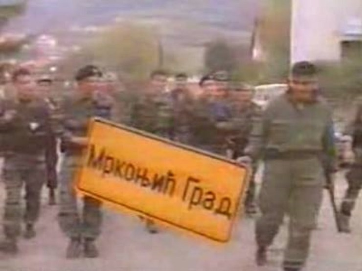 Hrvatske snage u Mrkonjiću