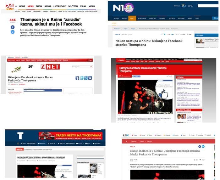 Mediji koji su požurili objaviti 'vijest' :)