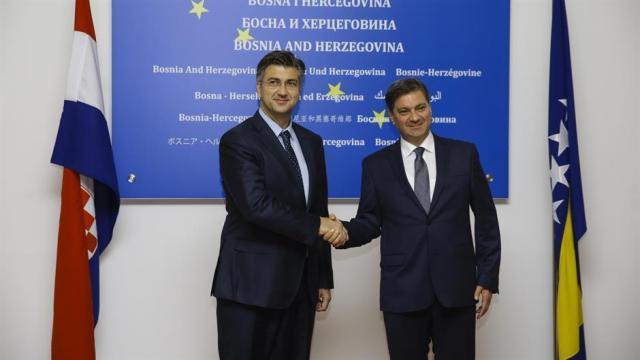 Andrej plenković i Denis Zvizdić