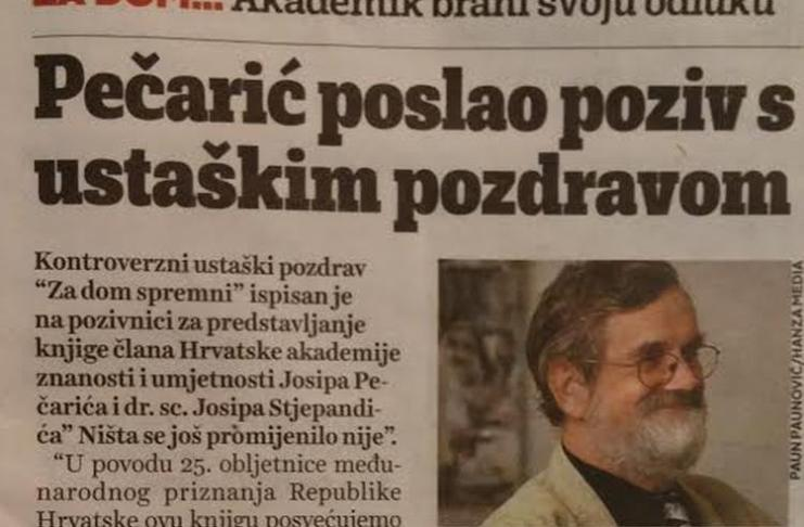 Image result for pečarić jutarnji list