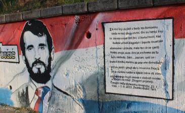Zvonko Bušić - mural