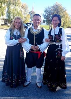 Matej Lazarević na svadbi na sjeveru Norveške