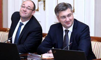 Davor Ivo Stier i Andrej Plenković