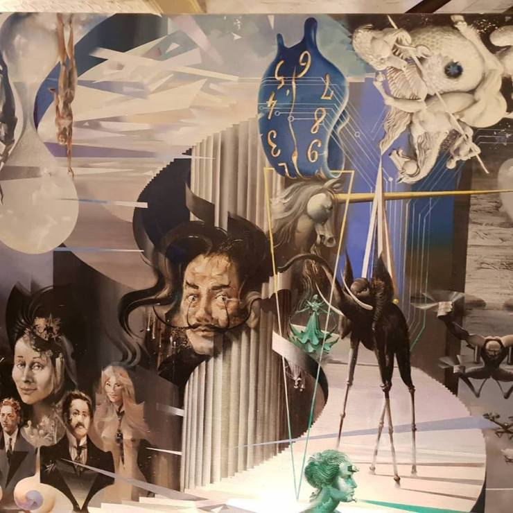 Hommage to Dali by Charles Billich