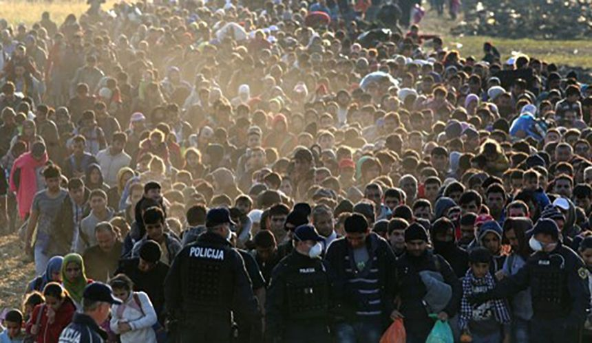 Tomislav Sunić: Seoba naroda tek je započela