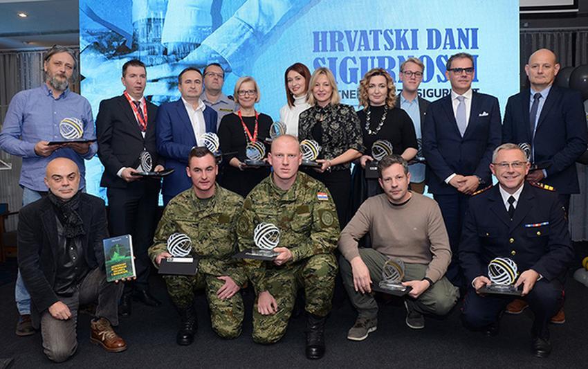 Pripadnici OS RH dobitnici Hrvatske velike nagrade sigurnosti