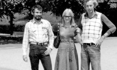 Zvonko, Julienne i Bruno Bušić