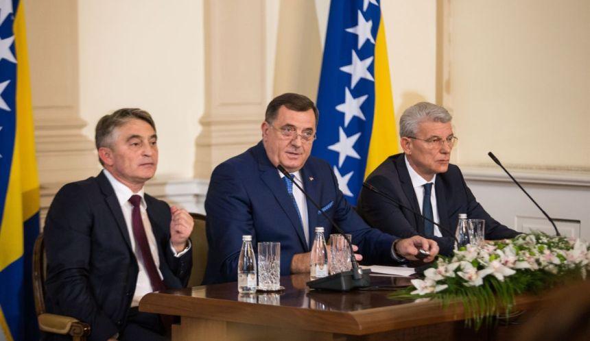 Komšić kazneno prijavio Dodika zbog pozivanja na vojnu pobunu