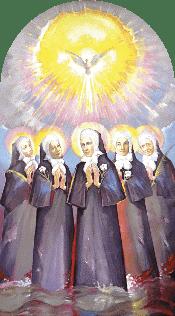Naše blaženice nadahnute Duhom Svetim