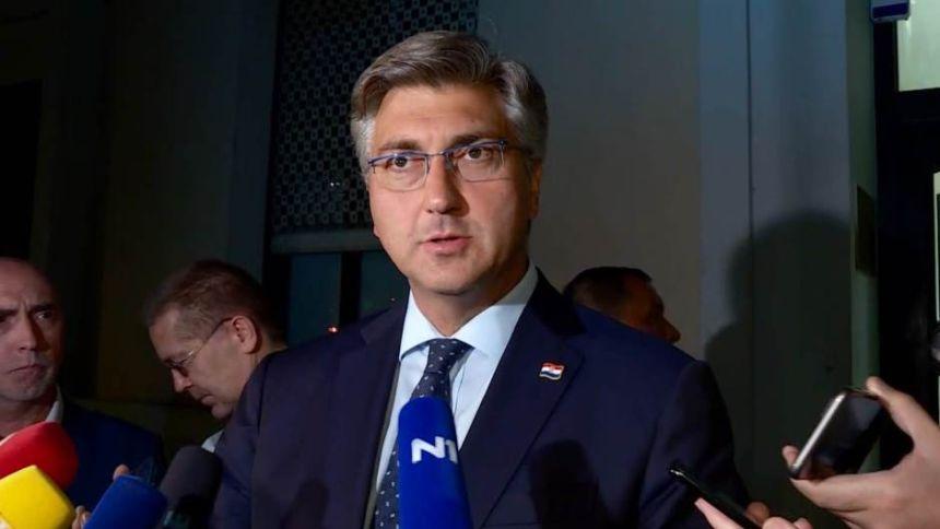 Andrej Plenković: Koalicija je stabilna, nema pritisaka i sve je u redu