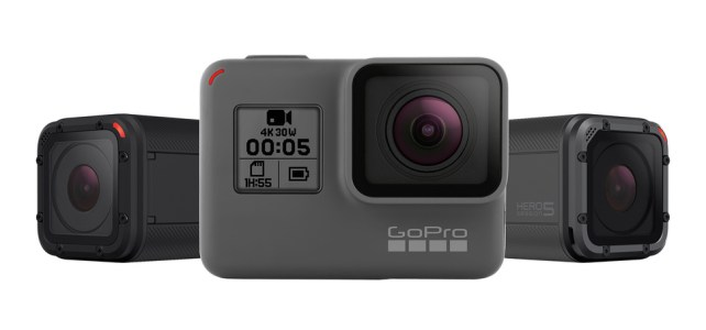 GoPro Hero 5 Black ve Hero 5 Session