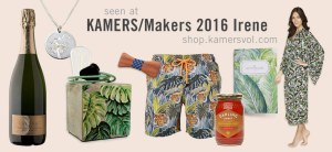 Seen at KAMERS/Makers 2016 Irene Collection - shop.kamersvol.com