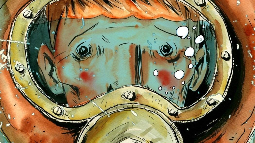 """""""The Underwater Welder"""" (fragment okładki)"""