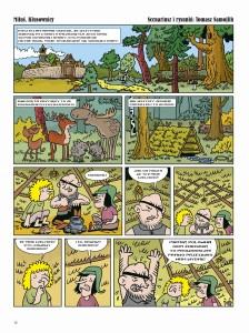 """""""Miluś Kłusownicy"""", scen. i rys. Tomasz Samojlik"""