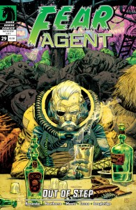 """""""Fear Agent"""" (okładka zeszytu #29)"""
