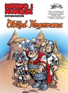 """""""Obłęd Hegemona"""" - okładka"""