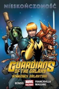 """""""Strażnicy Galaktyki. Nieskończoność"""" - okładka"""