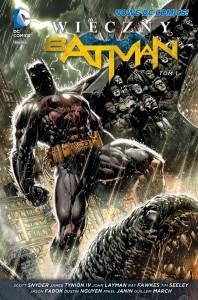 """""""Wieczny Batman"""", tom 1 - okładka"""