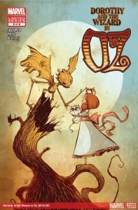 """""""Dorothy and the Wizard in Oz"""" - okładka zeszytu #5"""