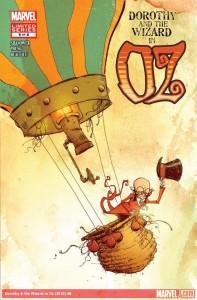 """""""Dorothy and the Wizard in Oz"""" - okładka zeszytu #6"""