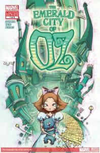 """""""Emerald City of Oz"""" - okładka zeszytu #1"""