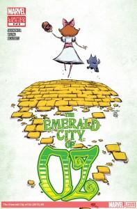 """""""Emerald City of Oz"""" - okładka zeszytu #5"""
