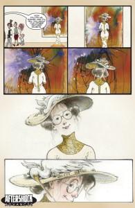 Eleanor and the Egret - plansza