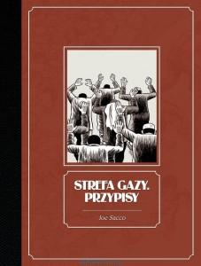 Strefa Gazy. Przypisy - okładka
