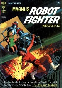 """Magnus. Robot Fighter"""