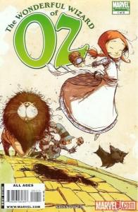 """""""The Wonderful Wizard of Oz"""" - okładka zeszytu #1"""