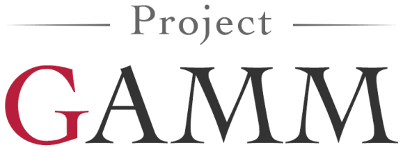 Project GAMM ロゴ