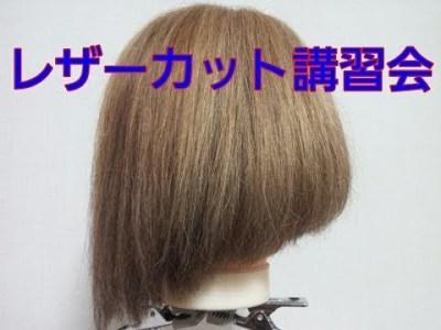 前田敦子 髪型前下がりボブ 切り方 芸能人に人気のヘアスタイル ハネないレザーカット講習会6