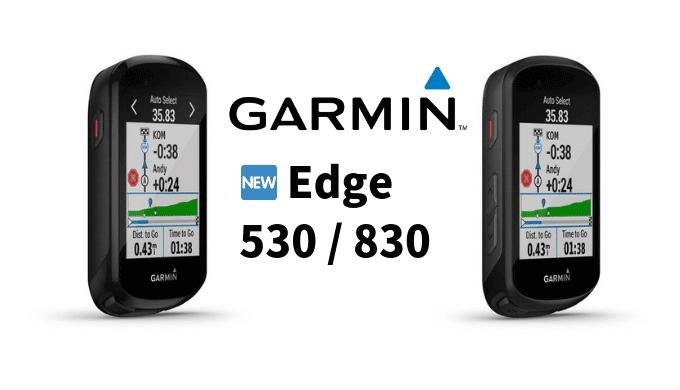 GARMIN EDGE530 EDGE830