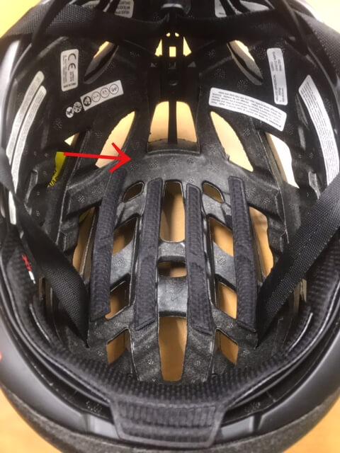 MiPS SPHERICALヘルメットの内側のレイヤー