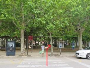 フィゲラス駅前