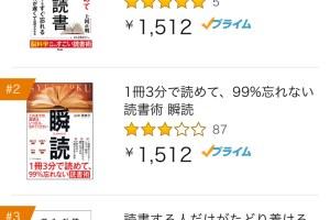 o0750133414556889601 1 - 「死ぬほど読めて忘れない!高速読書」が発売すぐにAmazonランキング1位!